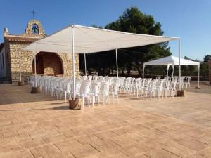 boda sillas