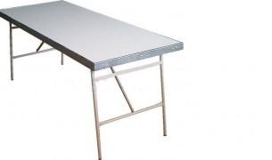 Mesa plegable (aluminio y fibra)