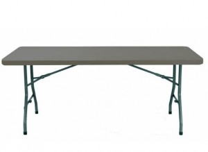 mesa plegable oscura