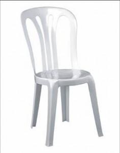 Alquiler de sillas espect culos levante for Sillas blancas apilables